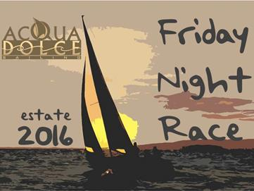 E´ estate.... e´ FRIDAY NIGHT RACE edizione 2016