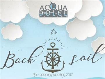 BACK TO SAIL - Reopening meeting 2017